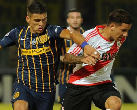 River y Central protagonizaron un duelo memorable.