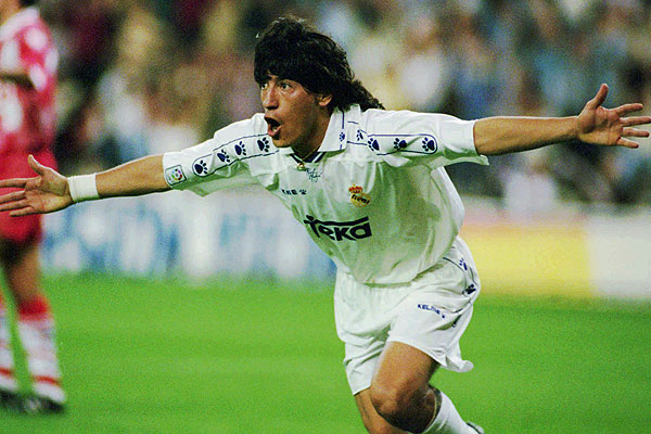 Real Madrid Iván Zamorano