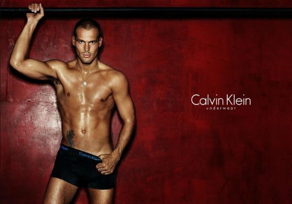 Ljungberg para Calvin Klein
