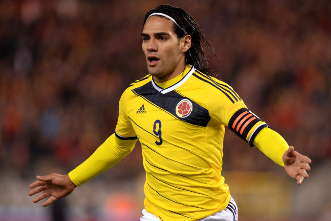 Radamel Falcao, Colombia.