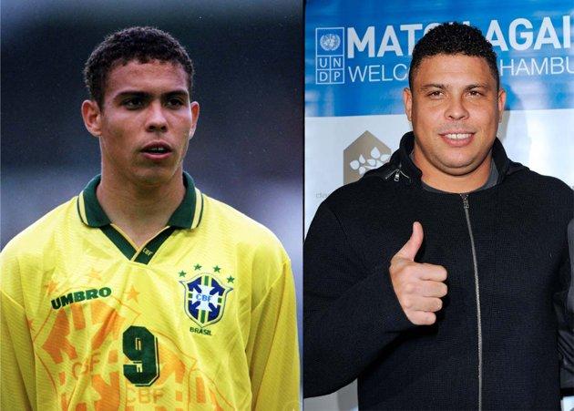 Antes y después de Ronaldo Nazario