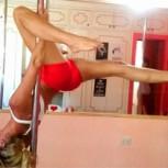 Paola Beccacece: La bella prima del técnico de la U destaca como instructora de Pole Dance