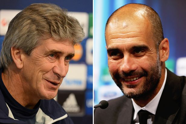 Pellegrini-and-Guardiola