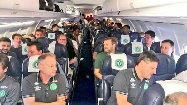 Accidente Chapecoense fotos