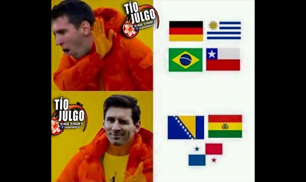 Chile Argentina memes