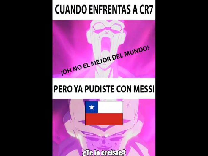 Chile Portugal memes