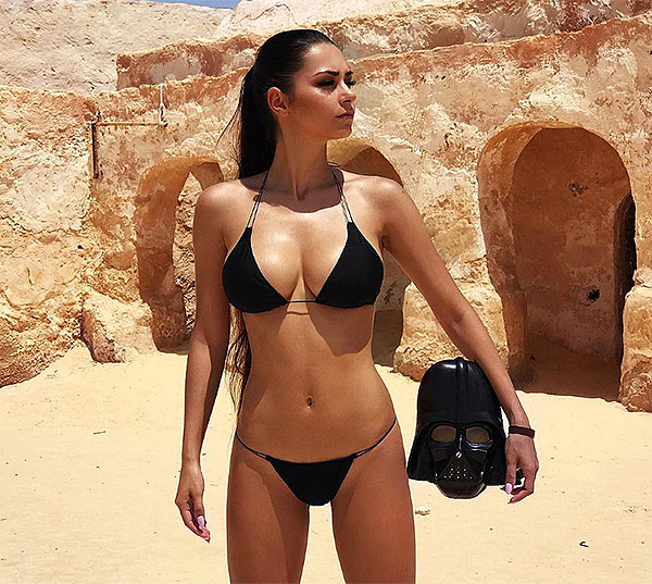 Helga Lovekaty James Rodríguez