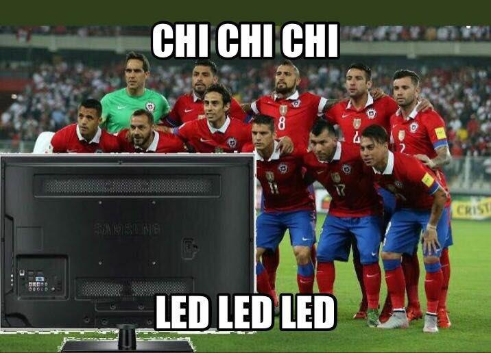 Chile fuera del Mundial de Rusia 2018: Los burlescos memes ...