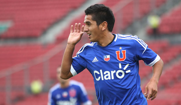 FUTBOL, UNIVERSIDAD DE CHILE VS S. WANDERERS. .