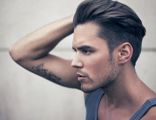 Transicion de cabello corto a largo hombres