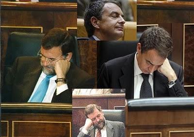 Encuentran trazas de políticos en el Congreso de los diputados