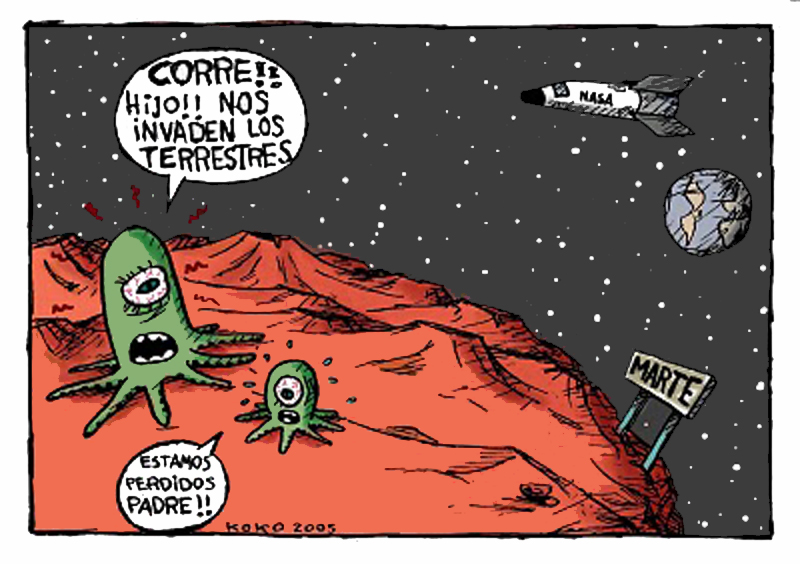 chistes extraterrestres 1