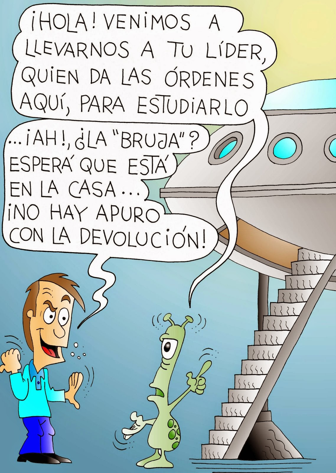 chistes extraterrestres 3