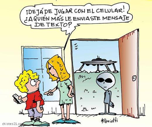 chistes extraterrestres