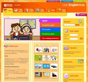 sitio web Inglés disfraz
