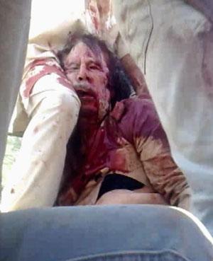Gaddafi muerte