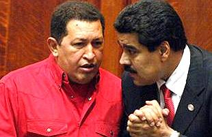 Chávez Maduro pajarito
