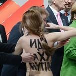 Protesta en Topless contra Putin: Fotos de la mediática manifestación