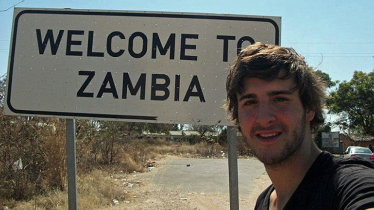 James Asquith en Zambia