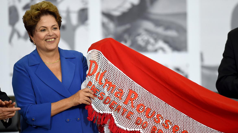La presidente brasileña, Dilma Rousseff, está en el penúltimo puesto del ranking de Business Insider. Gana 120.000 dólares.