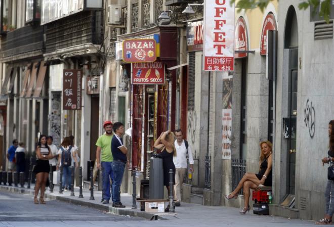 sinonimos favor numero de prostitutas en madrid
