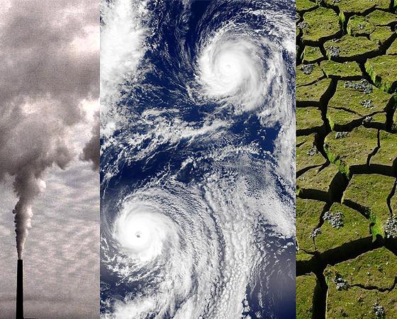 El planeta Tierra se acerca  a su final por el cambio climático.