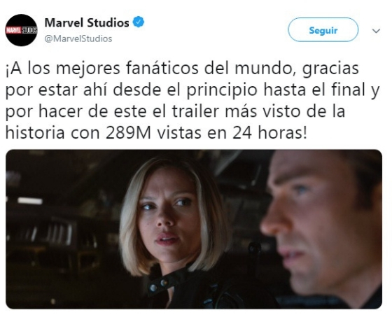 Avergers: Endgame supera record