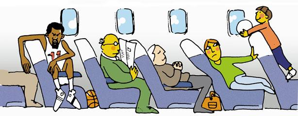 Molestias viajes