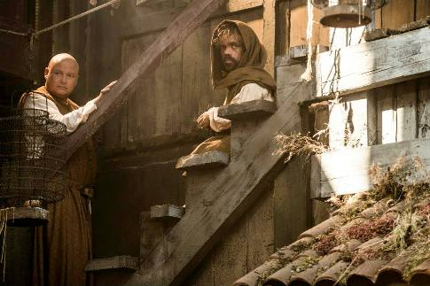 Conleth Hill como Varys y Peter Dinklage como Tyrion Lannister / HBO