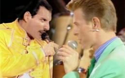 """""""Under pressure"""", la famosa canción que Freddie Mercury y David Bowie interpretaron a capella"""