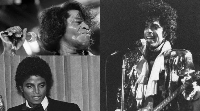 Prince, Michael Jackson y James Brown