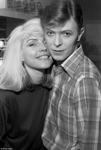 Deborah Harry y David Bowie