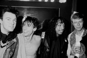 Paul Young Iggy Pop Rick James y David Bowie