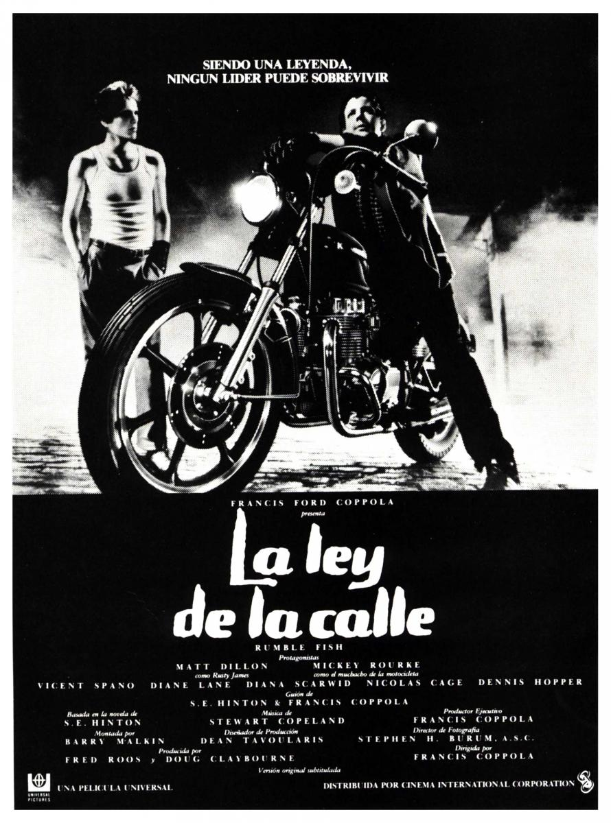 Poster la ley de la calle Rumble_Fish-220617458-large