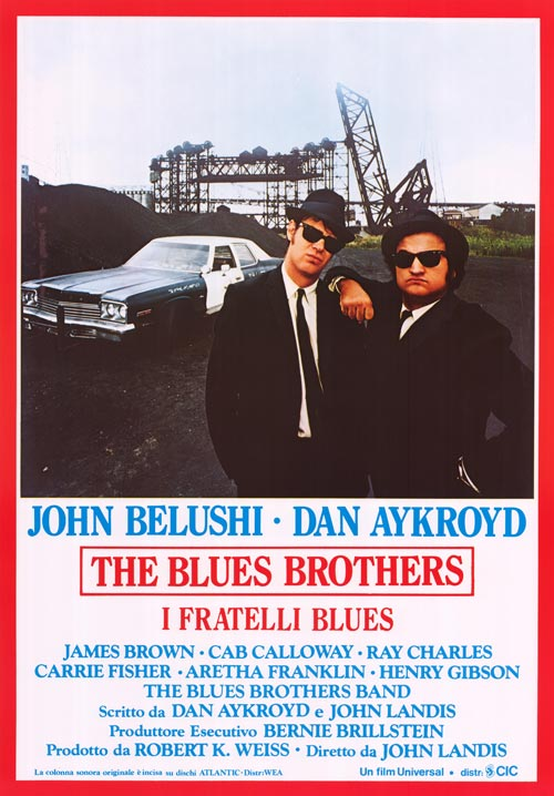 Poster the blue brothers