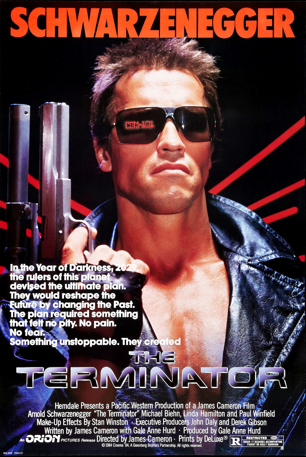 Posters the-terminator-