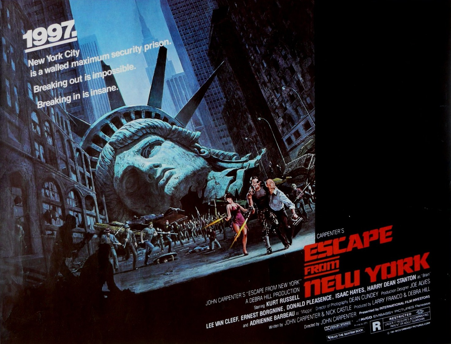 poster escape de nueva york