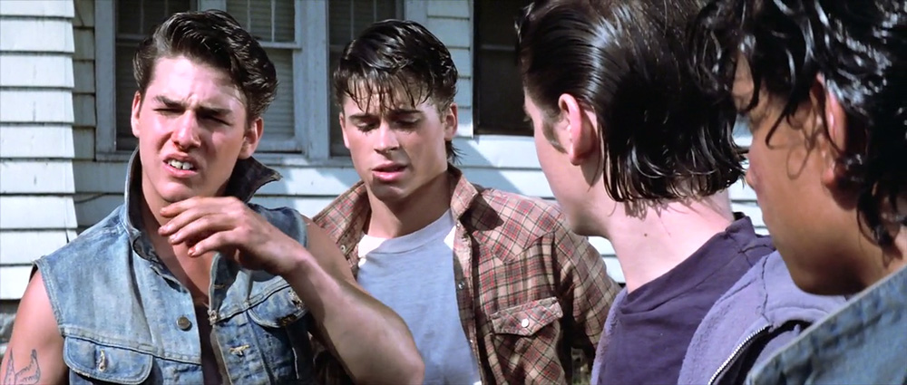 The outsiders scene