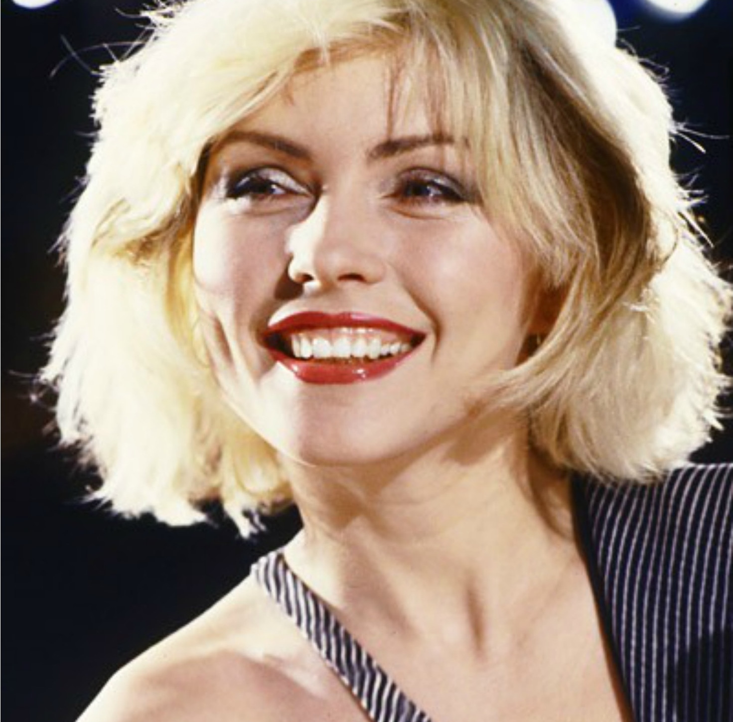 Deborah Harry, vocalista de Blondie.
