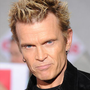 Billy Idol en la actualidad.