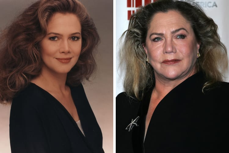 Kathleen-Turner (1) then and now
