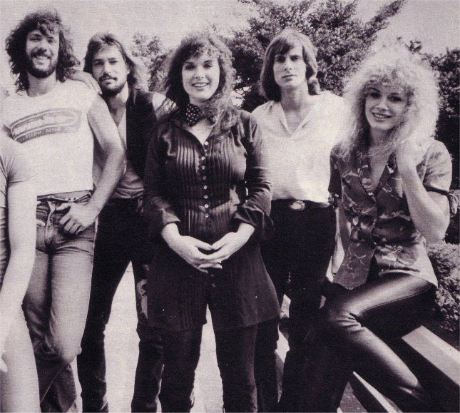 El grupo Heart a principios de los años 80'.