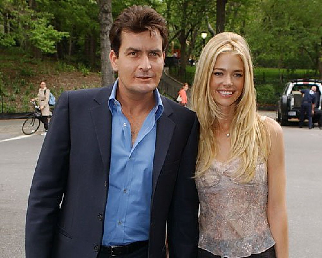 denise y charlie sheen