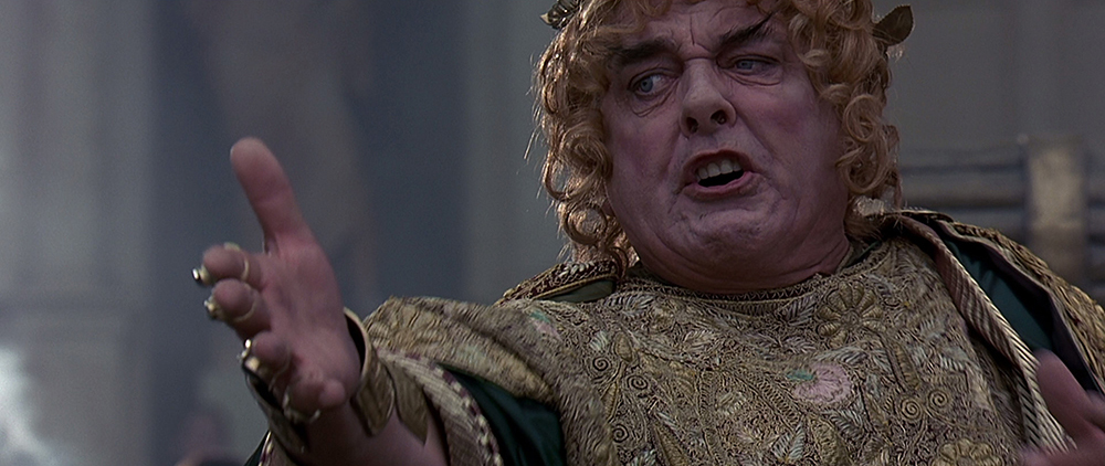 gladiator david hemmings