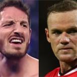 Wayne Rooney abofetea al temible King Barrett y desata delirio en la WWE