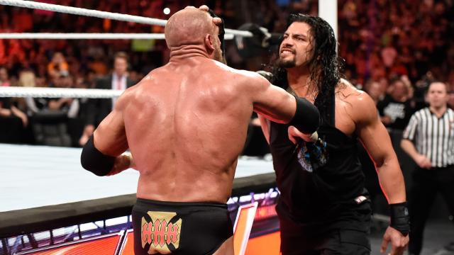 Triple H vs Roman Reigns en Wrestlemania.