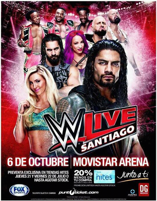 WWE vuelve a Chile