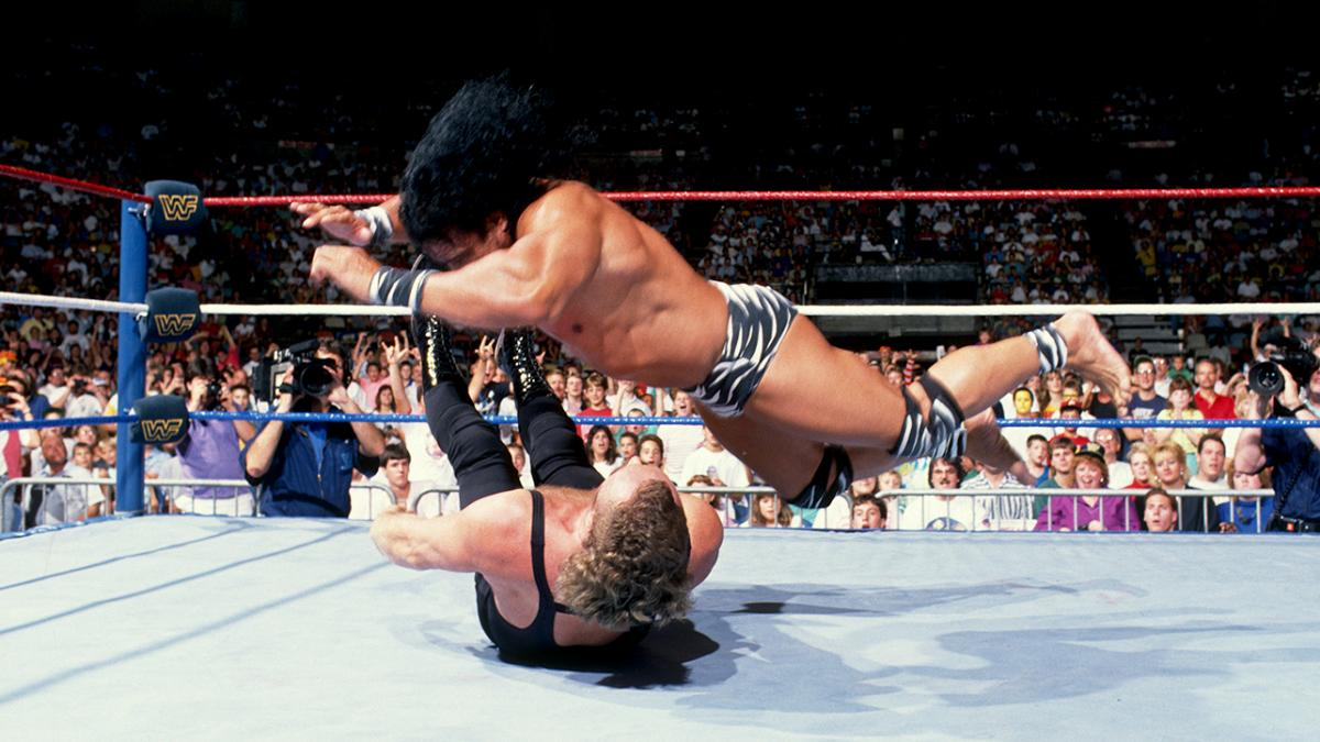 Jimmy Snuka en acción.