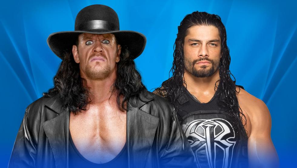 Undertaker vs Roman Reigns en Wrestlemania.