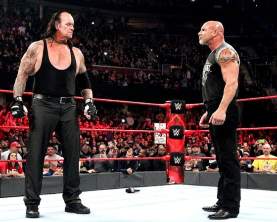The Undertaker y Goldberg